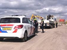 Man (56) met inbrekerswerktuigen aangehouden op bouwterrein in Bunschoten