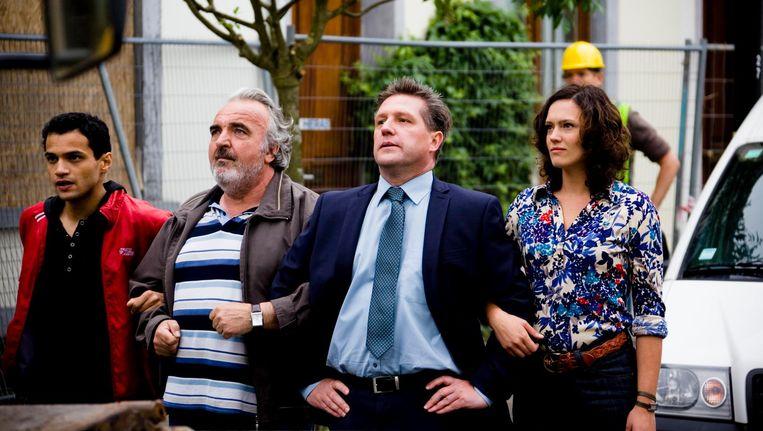 Zeguendi speelde in de Eénreeks 'De Vijfhoek' Jamal, in 2012 op televisie.