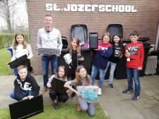 Leerlingen van Sint Jozef in Nieuw Namen zamelen meeste elektronisch afval in