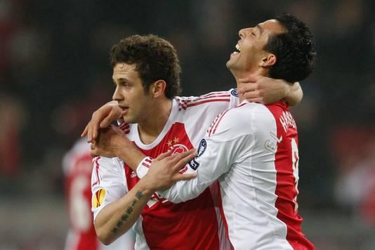 Sulejmani et El Hamdaoui: deux des killers d'Anderlecht jeudi soir.
