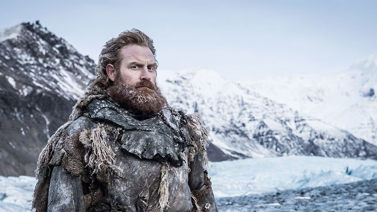 'Game of Thrones'-ster Kristofer Hivju (Tormund) komt naar België. Beeld RV