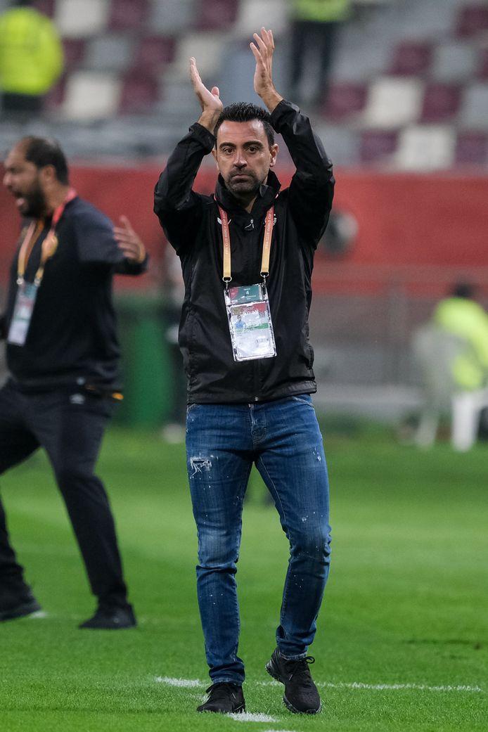 Xavier Hernández, coach van Al Sadd in Qatar.