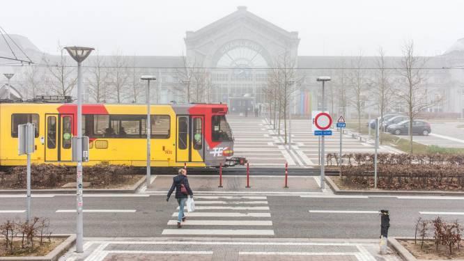 La circulation va être interdite devant la gare de Charleroi-Sud
