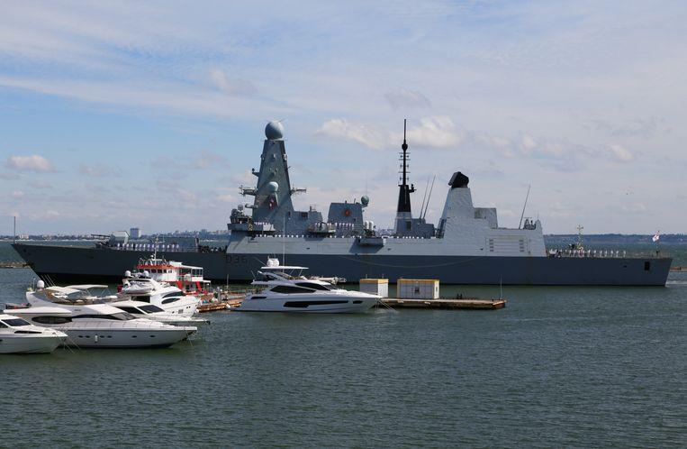 De HMS Defender. Beeld REUTERS