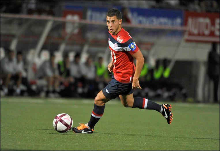 Eden Hazard bij Lille.