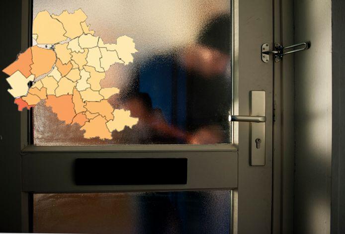 Het aantal inbraken nam de afgelopen maanden fors af, ten opzichte van een jaar eerder in Oost-Nederland.