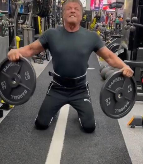 Sylvester Stallone fête ses 75 ans et montre qu'il est en pleine forme