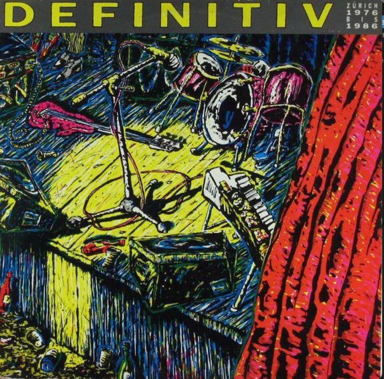 'Definitiv: Zürich 1976 bis 1986' Beeld RV