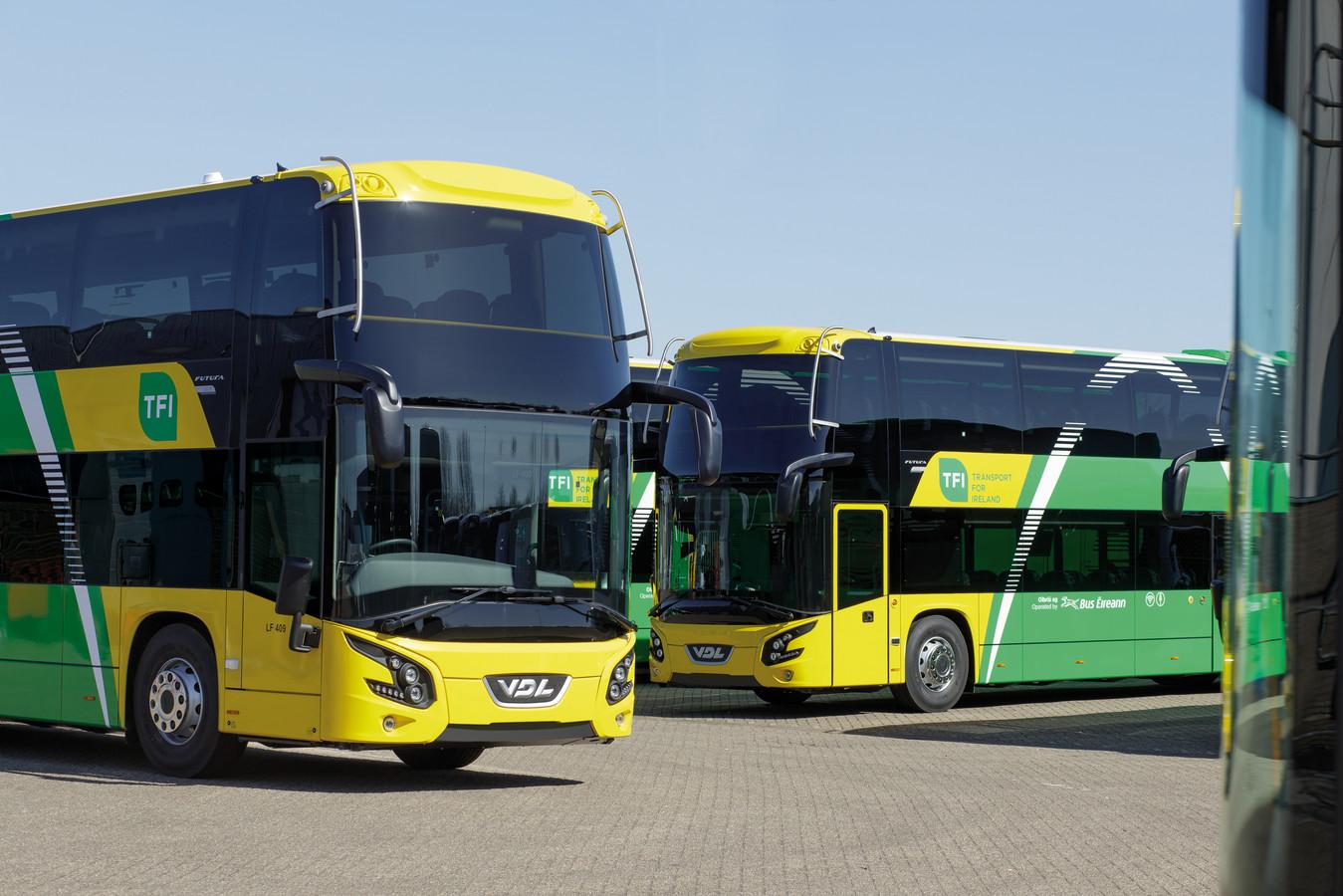 Futura-touringcars van VDL worden ingezet in het openbaar vervoer in Ierland.