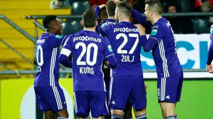 VIDEO. Anderlecht legt niet zonder moeite KVO over de knie, Verschaeren vervult met twee assists weer cruciale rol
