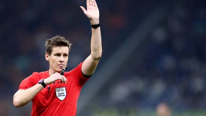 Voici l'arbitre de la demi-finale Belgique-France à Turin