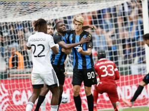 Bruges égalise à la... 103e minute contre Eupen, Jean-Luc Crucke s'en mêle