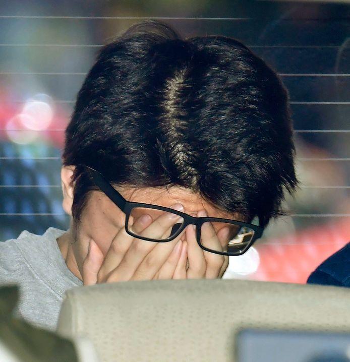 Takahiro Shiraishi na zijn arrestatie in november 2017.