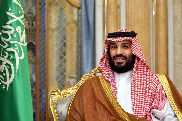 De Saoedische kroonprins Mohammed bin Salman. Beeld REUTERS