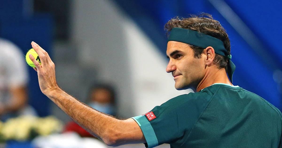 Federer is weer terug: Zwitser (39) wint bij eerste partij na veertien maanden - AD.nl