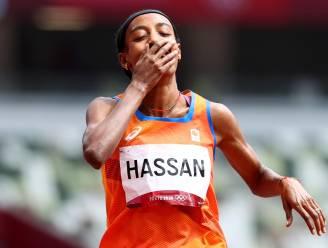 Indrukwekkende Hassan ondanks valpartij naar halve finales 1.500 meter