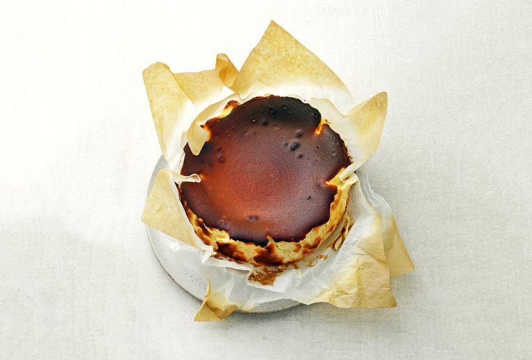 Burnt cheesecake Beeld Erik van Lokven