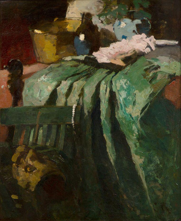Coba Ritsema: De groene rok (ca. 1935). Frans Hals Museum, Haarlem. Beeld Frans Hals Museum, Haarlem