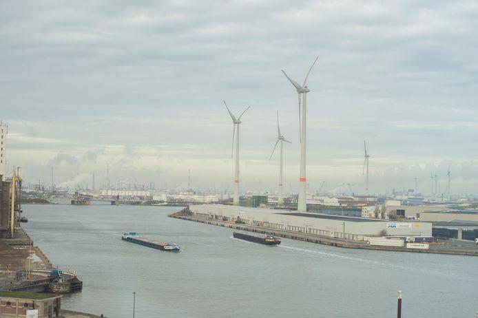 De Antwerpen haven .