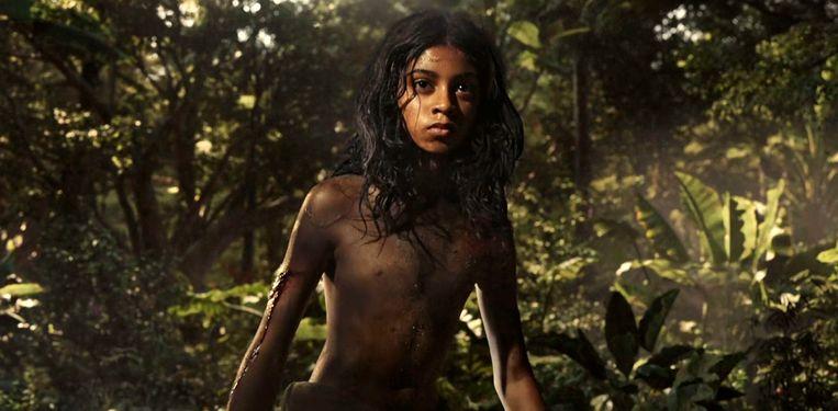Rohan Chand als Mowgli in 'Mowgli: Legend of the Jungle'. Beeld AP