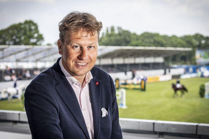 Rob Maathuis van organisatie CSI Twente, gefotografeerd tijdens de editie in 2019