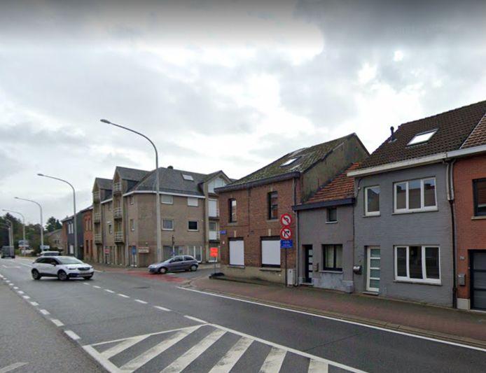 De overval vond plaats in een huis op de Diestsesteenweg in Kessel-Lo