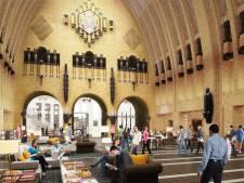 Bibliotheek Neude zet week voor opening de deur al op een kier