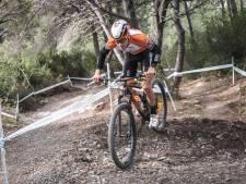 De Nijmeegse mountainbiker David Nordemann is nu blij met pijn in beide benen