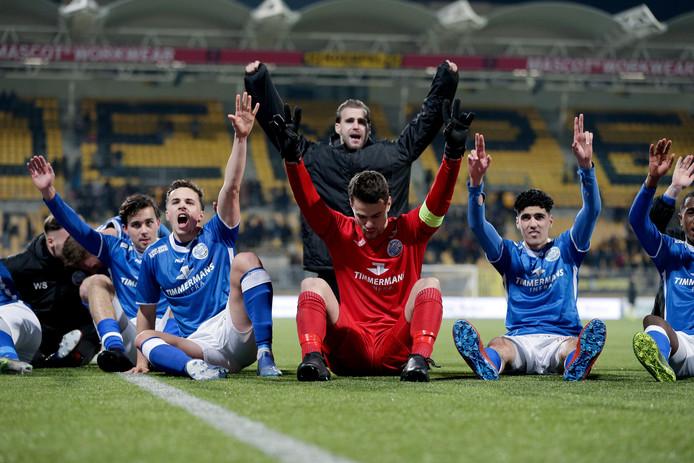FC Den Bosch vierde vorige week bij Roda JC de tweede opeenvolgende competitiezege.