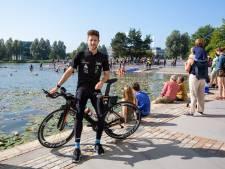 Triatleet Van Hemel is op de weg terug na ongeluk: 'Ik kon hier niet door de muur heen'