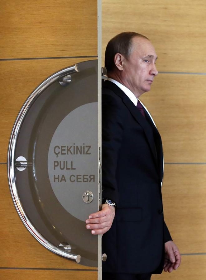 Russisch president Vladimir Putin.