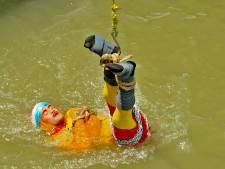 Indiase 'Houdini' verdrinkt tijdens mislukte boeientruc