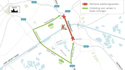 Klein Veerle en Mallebaan krijgen nieuwe asfaltlaag