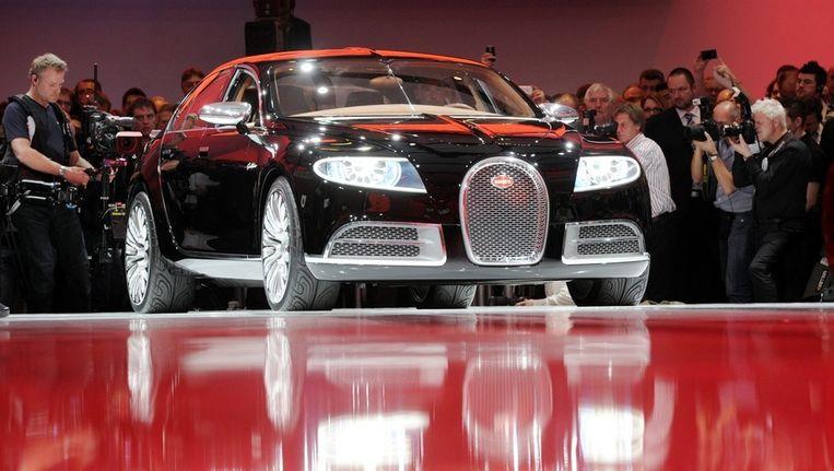 Een Bugatti. Beeld AFP