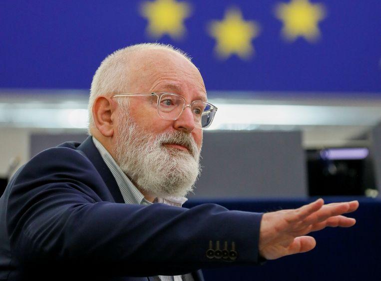 Europees commissaris Frans Timmermans. Beeld REUTERS