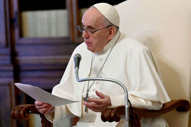 Paus Franciscus Beeld AFP