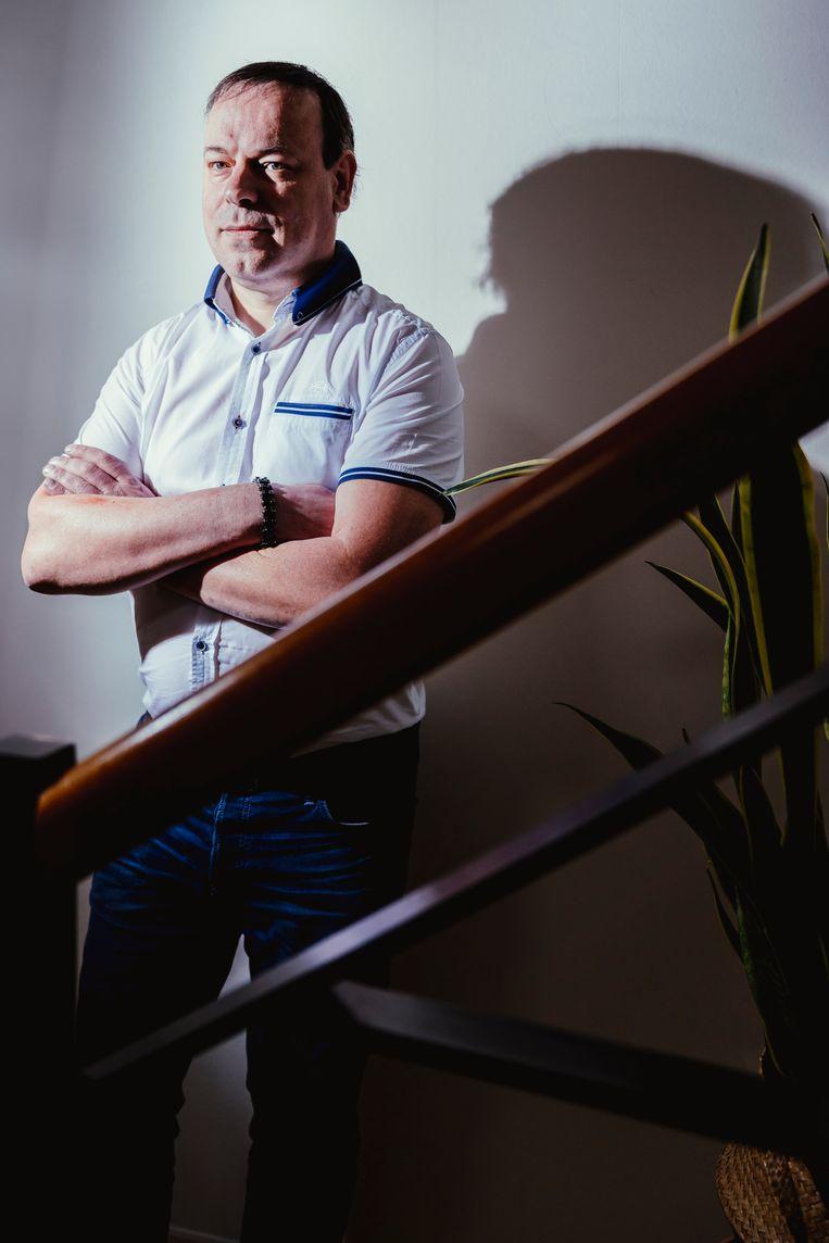 Professor bouwfysica Bert Blocken (TU Eindhoven/KU Leuven).  Beeld Stefaan Temmerman