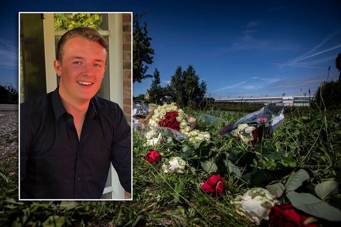 De geliefde Naaldwijker Jim Mulder (17) overleed na een verkeersongeluk.