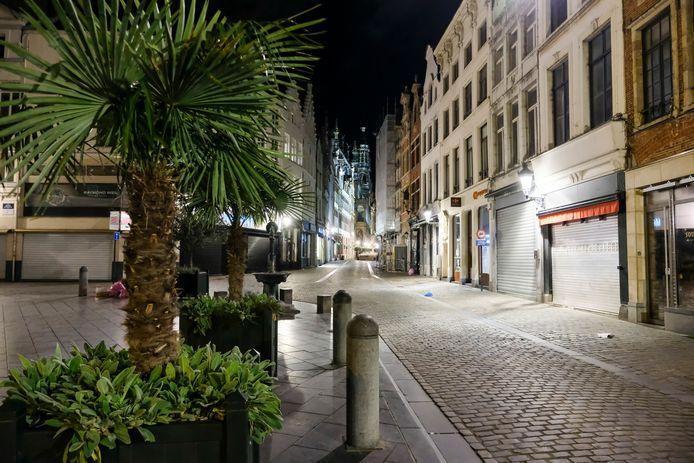 De strenge Brusselse avondklok geldt sinds oktober. Vanaf 8 mei gaat ze sowieso op de schop.