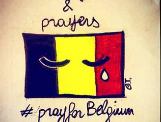 De hele wereld bidt voor België vandaag