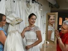 Amerongen leeft 'sprookje' van de  61 geschonken bruidsjurken