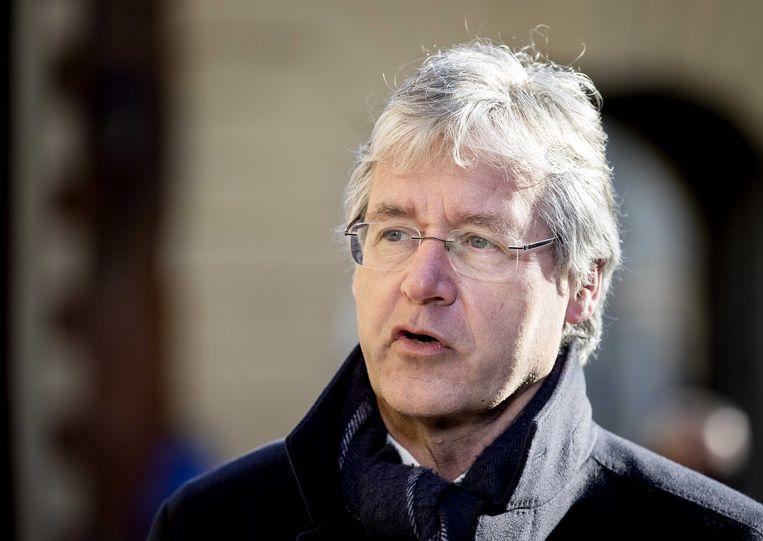 Arie Slob, demissionair minister voor Basis- en Voortgezet Onderwijs en Media. Beeld ANP