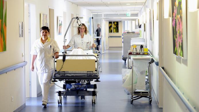 Interieur van het Ikazia ziekenhuis in Rotterdam.