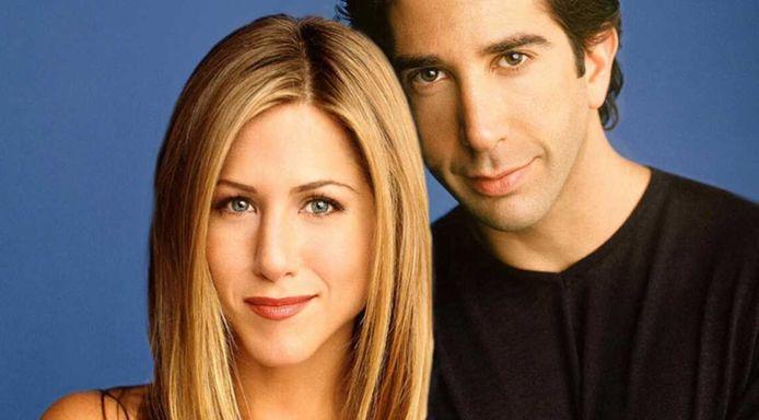 Jennifer Aniston (Rachel) et David Schwimmer (Ross)