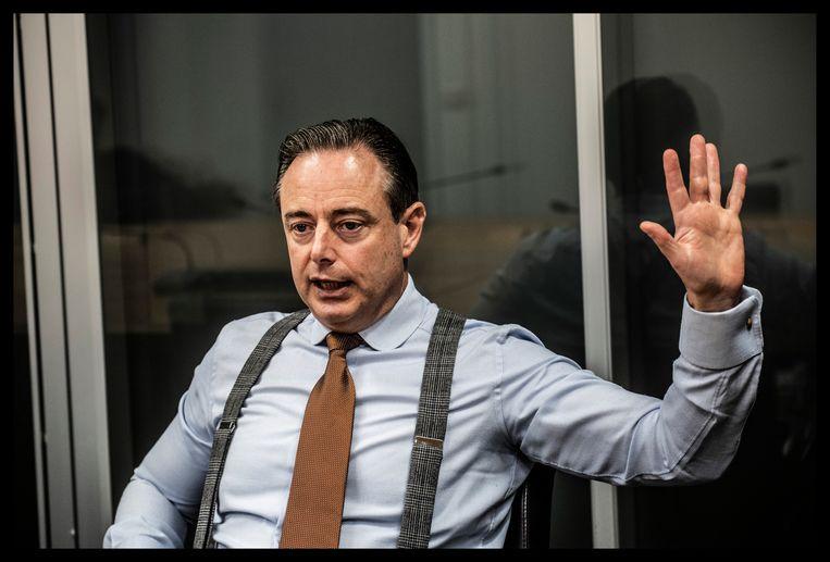 Bart De Wever. Beeld Saskia Vanderstichele