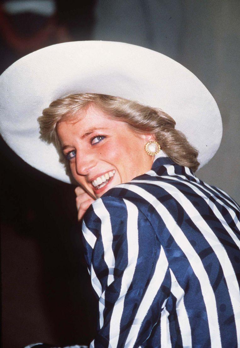 Prinses Diana in Australië in 1988. Beeld WireImage
