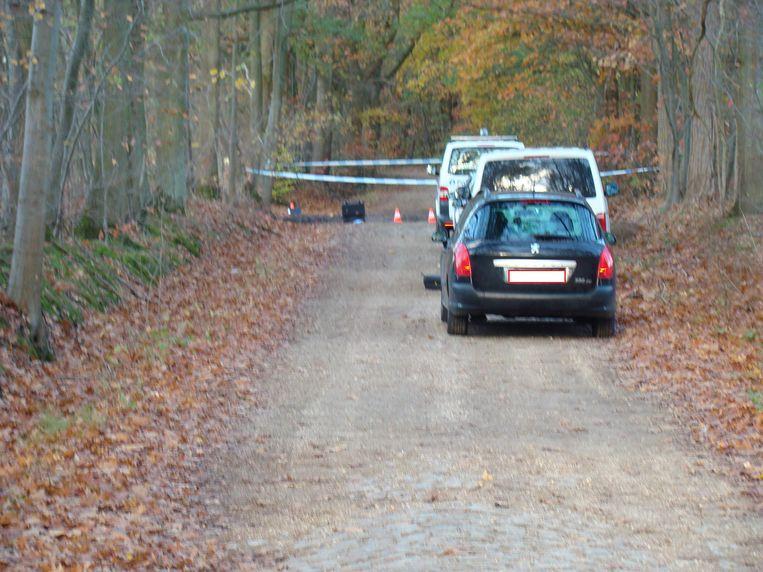 SCHERPENHEUVEL-ZICHEM-Vrijdag werd afval van een drugslabo aangetroffen langs de hoornblaas