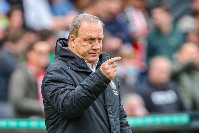 Dick Advocaat, voormalig bondscoach van België en Nederland.