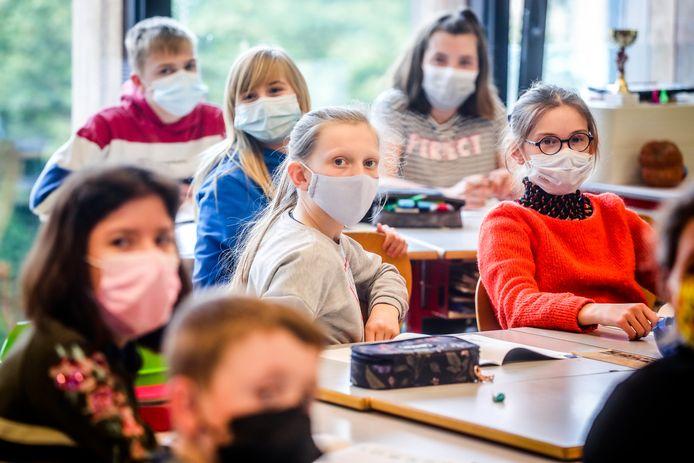 Bientôt la fin du masque dans les classes? Photo prétexte