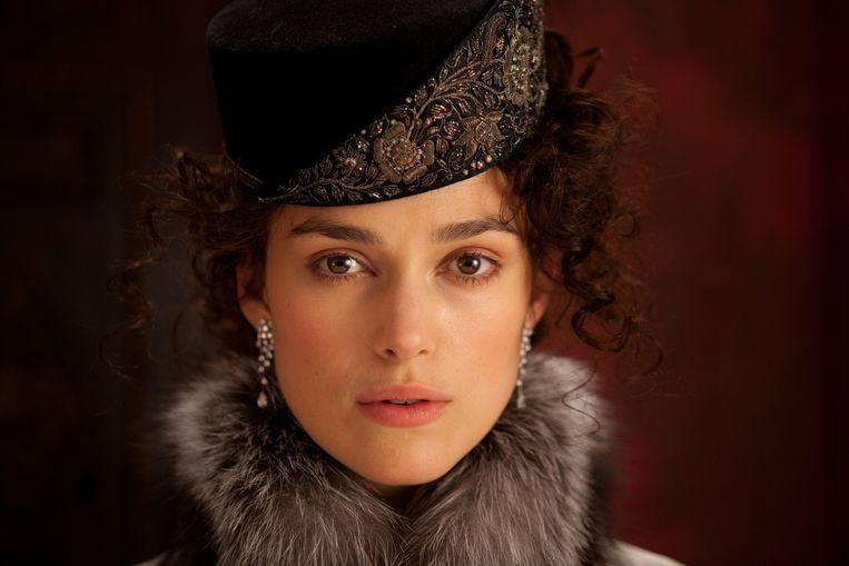 Keira Knightley in een recente verfilming van Anna Karenina (2012). Beeld rv